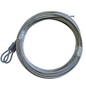 3 / 32 X 164 7X7 GAC Garage Door Plain Loop Extension Lift Cables