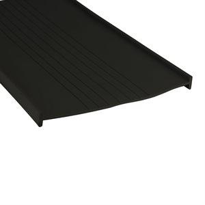 Black 3-3 / 4 T-Shaped Bottom Seal X 400 FT