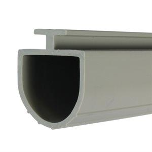 7 / 16 T Mini Warehouse Bottom Bulb Seal - Gray X 150 FT