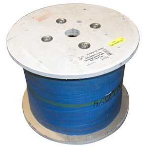 1 / 8 X 5000 FT, 7X19 Galvanized Aircraft Cable, Left Hand Lay