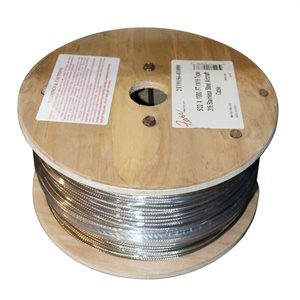 5 / 32 X 1000 FT 1X19 Type 316 Stainless Steel Aircraft Cable