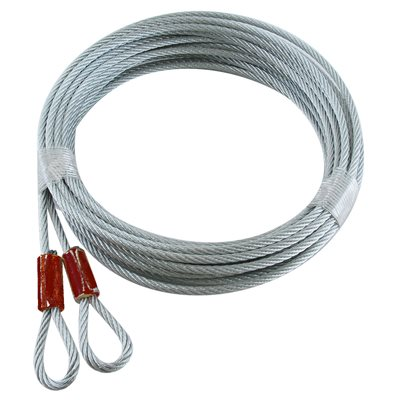 "3 / 32 X 120"" 7X7 Plain Loop Extension - Red"