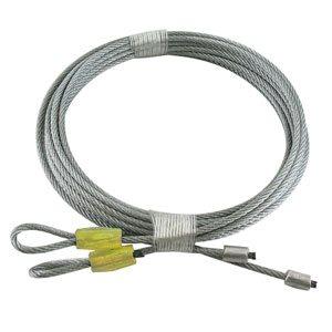 1 / 8 X 138 7X7 GAC Garage Door Torsion Lift Cables - Yellow