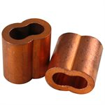 5 / 16 X 100 Pcs Copper Sleeve (10)