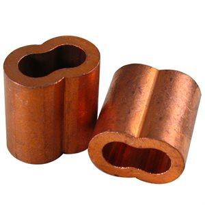 5 / 16 X 100 Pcs Copper Sleeve (10)