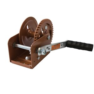 "1100 LB Hand Crank Winch, Standard 7 / 8"" Hub"