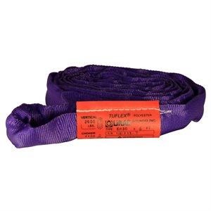 EN30 X 12 FT Purple Tuflex Polyester Roundsling