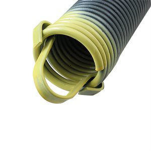 330 LB Extension Spring with Clip Ends - Yellow