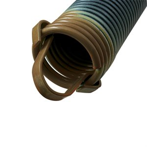 260 LB Extension Spring with Clip Ends - Brown