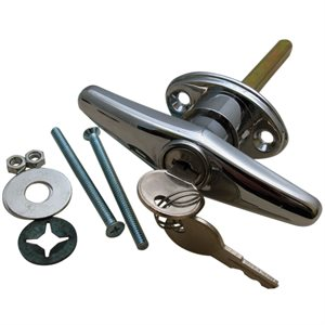 Locking T-Handle with Hardware (411-3) Random Keyed - 75 pc. Carton