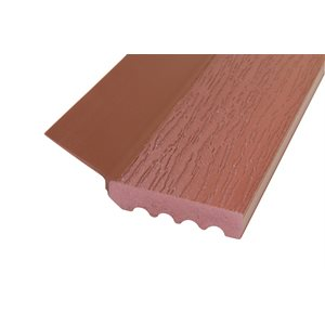 Mahogany (P604-RSR) Uniflex 7 Ft X 15 Pcs