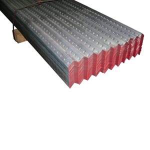 1-1 / 4 X 1-1 / 4 X 8 FT 13 Gauge Red Galvanized Perforated Angle