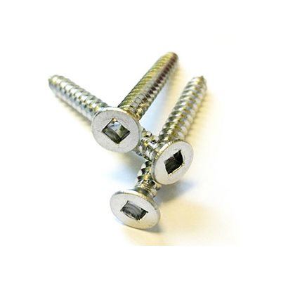 Raileasy 1-1 / 2 T- 316 Stainless Steel Square Flat Wood Screw