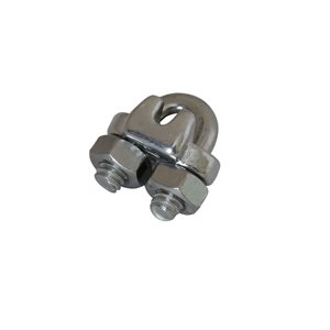 1 / 8 Type 316 Stainless Steel Wire Rope Clip
