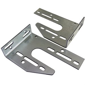 Universal Spring Anchor Plate, 8 Gauge - Left